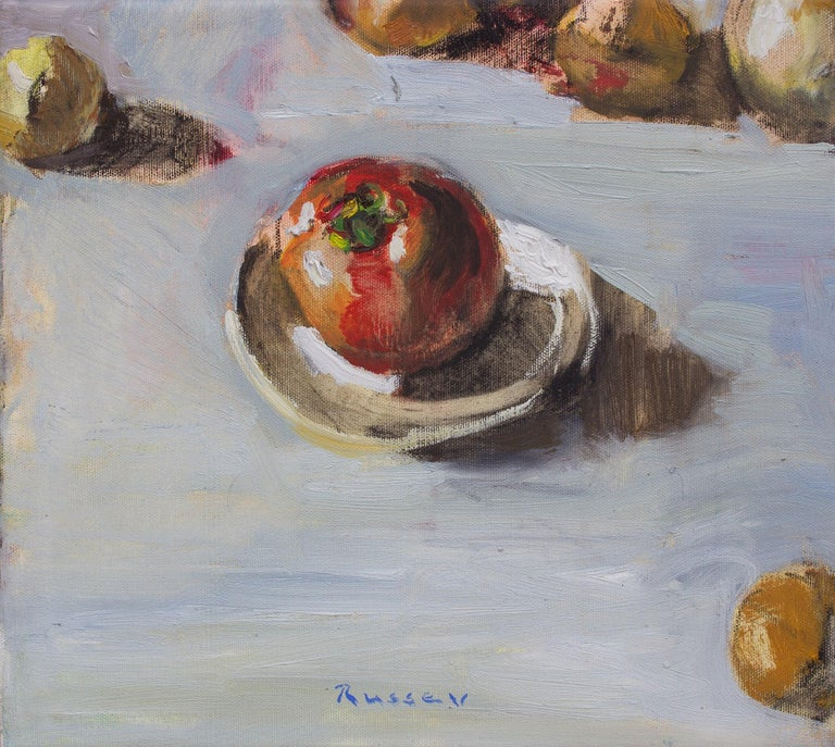 Ivan Roussev Still-Life Painting - Red Tomato