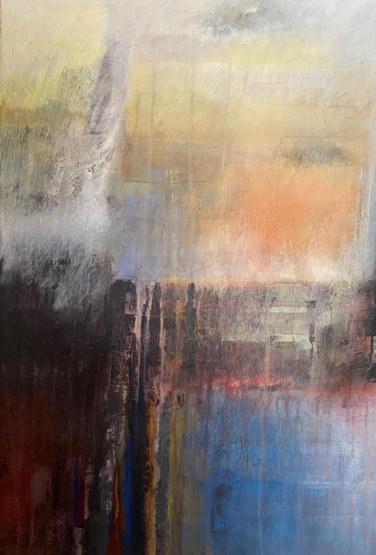 Ivanilde Brunow Abstract Painting