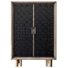 Ivo Black Cabinet by Chiara Provasi