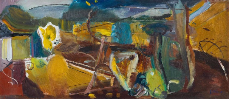 <i>Yellow Autumn from a Terrace,</i> 1948, Ivon Hitchens, offered by Osborne Samuel Gallery