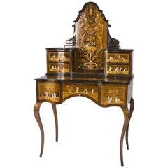 Ivory Inlaid Italian Desk