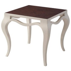 Ivory Painted Side Table