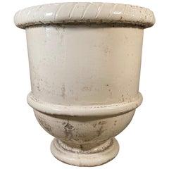 Ivory Provençal Urn
