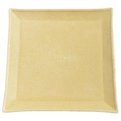 Ivory Shagreen Tray
