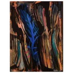 Ivy Lysdal, Acrylic on Canvas, Abstract Modernist Painting, Dated 2005