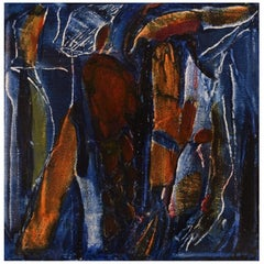 Ivy Lysdal, b 1937, Oil on Canvas, Abstract Modernist Painting, Dated 2006
