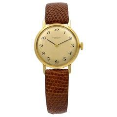 IWC 18 Karat Yellow Gold Vintage Manual Winding Ladies watch