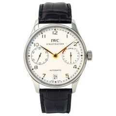 IWC 7 Day Schaffhausen IW500114 Box and Papers 2013 Men's Automatic Watch