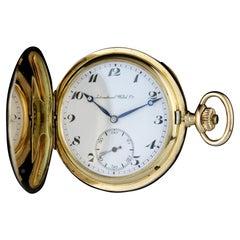 IWC A Gold Presentation Pocket Watch, Circa 1900
