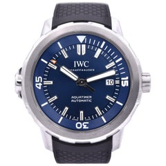 IWC Aquatimer Blue Expedition Jacques-Yves Cousteau Watch Ref. IW329005