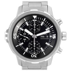 IWC Aquatimer Day Date Automatic Chronograph Men's Watch IW376804 Unworn
