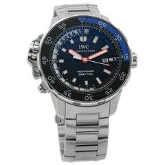 IWC Aquatimer IW354702, Black Dial, Certified and Warranty