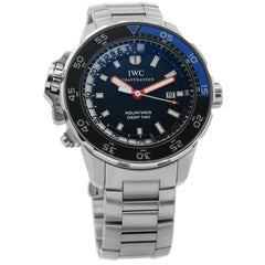 IWC Aquatimer IW354702, Black Dial, Certified and Warranty