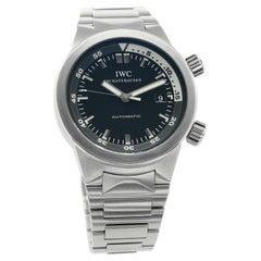IWC Aquatimer IW354805, Black Dial, Certified and Warranty