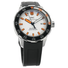 IWC Aquatimer IW3568-07, White Dial, Certified and Warranty