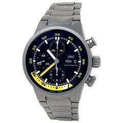 IWC Aquatimer IW371903, Black Dial, Certified and Warranty
