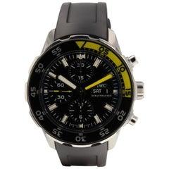 IWC Aquatimer IW376702, Black Dial, Certified and Warranty