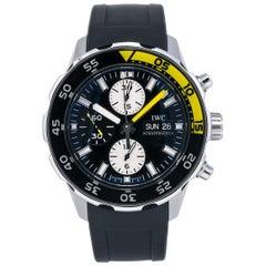 IWC Aquatimer IW376708, Black Dial, Certified and Warranty