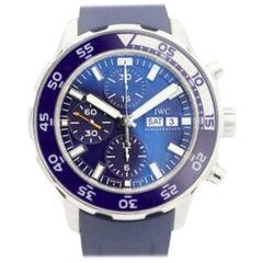 IWC Aquatimer IW376711, Blue Dial, Certified and Warranty