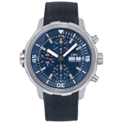 IWC Aquatimer IW376805, Black Dial, Certified and Warranty