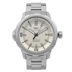 IWC Aquatimer Stainless Steel Silver Dial Automatic Men's Watch IW329004