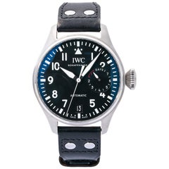 IWC Big Pilot IW5009-12, Black Dial, Certified and Warranty