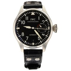 IWC Big Pilot IW501001, Millimeters Black Dial, Certified and Warranty