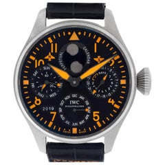 IWC Big Pilot IW502618 Stainless Steel Black Dial Automatic Watch