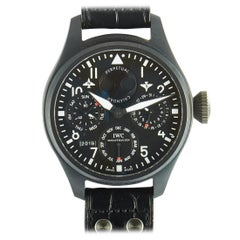 IWC Big Pilot Perpetual Calendar Top Gun Watch 5029