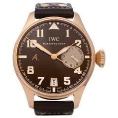 IWC Big Pilot's 0 IW500421 Men's Rose Gold Saint Exupery Ltd Edition Watch