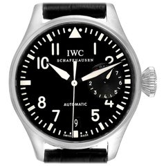 IWC Big Pilots Black Dial Automatic Steel Men's Watch IW500401