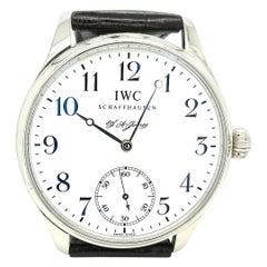 IWC F.A.Jones Portuguese Platinum Limited Edition Wristwatch, IW544202