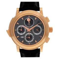 IWC Grand Complication IW377025 18 Karat Rose Gold Grey Dial Automatic Watch