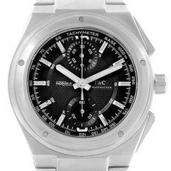 IWC Ingenieur Automatic Chronograph Black Dial Men's Watch IW372501