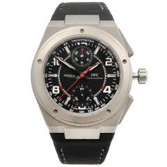 IWC Ingenieur for Mercedes-AMG Titanium Black Dial Automatic Watch IW372503