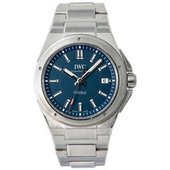 IWC Ingenieur IW323902, Blue Dial, Certified and Warranty