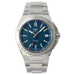 IWC Ingenieur IW323902 Laureus Edition Men's Automatic Watch with Box and Papers