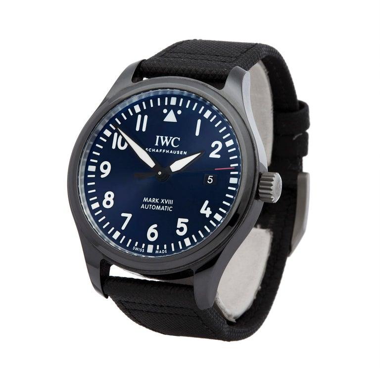 watch 2eada 9c235 IWC Mark XVIII Ceramic IW324703
