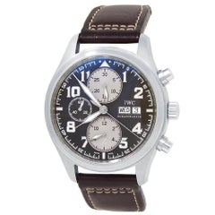 IWC Pilot Chronograph IW371709, Brown Dial, Certified and Warranty