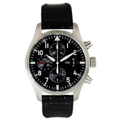 IWC Pilot Chronograph IW377701 Men Watch Original Box and Papers