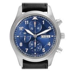 IWC Pilot Chronograph Laureus Sport Limited Edition Men's Watch IW371712