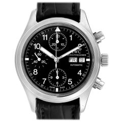 IWC Pilot Flieger Chronograph Day Date Automatic Men's Watch IW370603