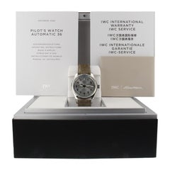 IWC Pilot IW324007, Silver Dial, Certified and Warranty