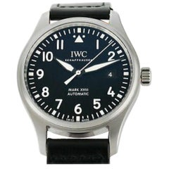 IWC Pilot IW3255-05, Black Dial, Certified and Warranty