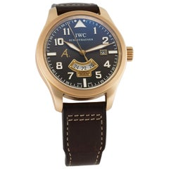 IWC Pilot IW3261-03, Brown Dial, Certified and Warranty