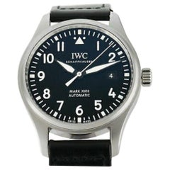 IWC Pilot IW3270-09, Black Dial, Certified and Warranty