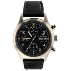IWC Pilot IW370605, Black Dial, Certified and Warranty