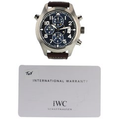 IWC Pilot IW371807, Blue Dial, Certified and Warranty