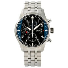 IWC Pilot IW377704, Black Dial, Certified and Warranty
