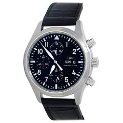 IWC Pilot IW377709, Black Dial, Certified and Warranty